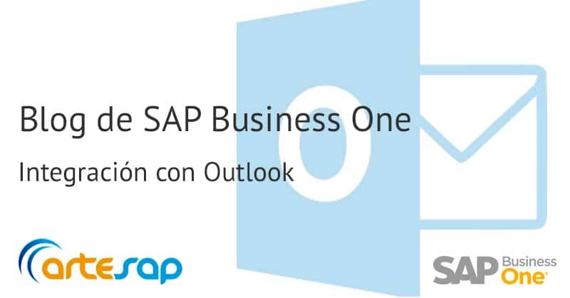 Realiza la integración de SAP Business One con Microsoft Outlook