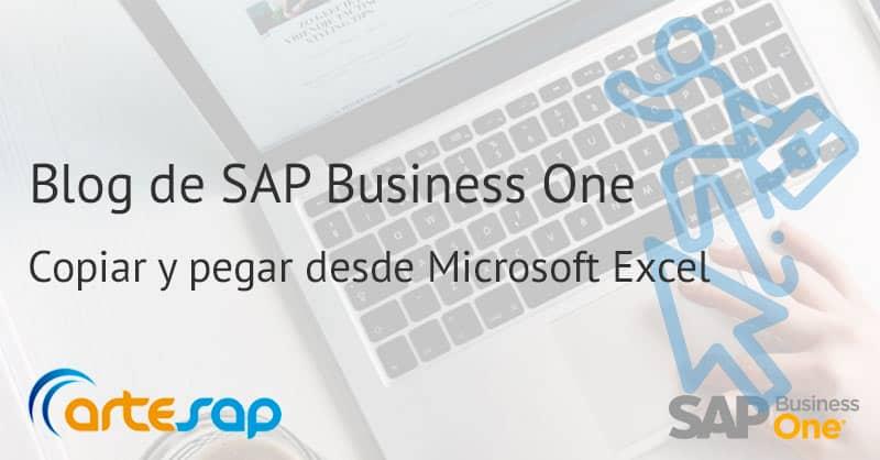 Imagen destacada Cómo copiar y pegar en SAP Business One