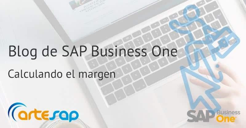 Como calcular el margen bruto en SAP Business One