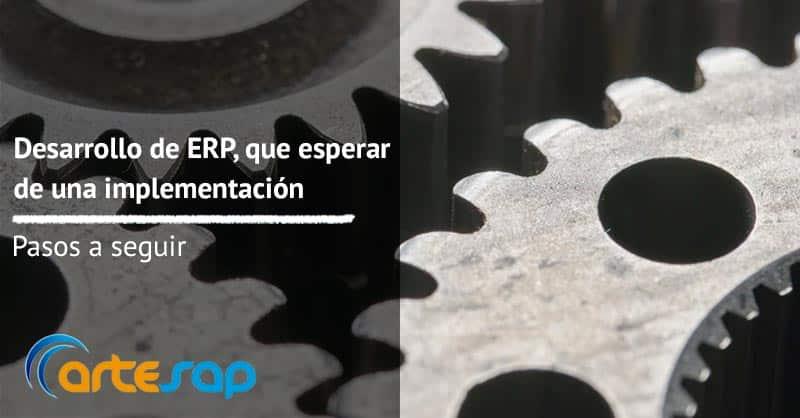 Desarrollo de ERP, qué puedes esperar de una implementación
