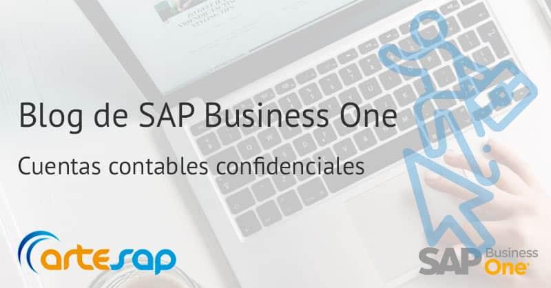 Como configurar las cuentas contables confidenciales en SAP Business One