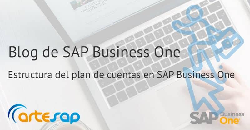 Estructura del plan de cuentas en SAP Business One