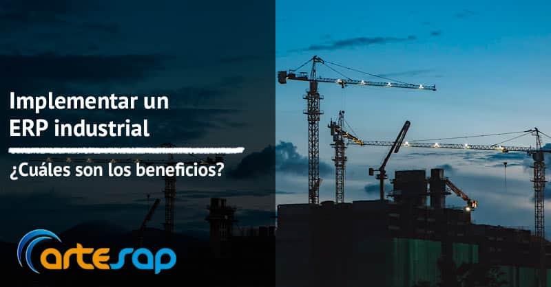 Imagen destacada Beneficios de implementear un ERP industrial