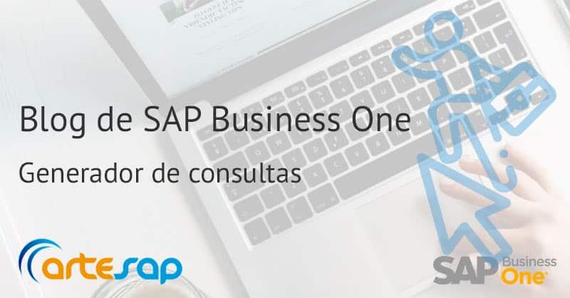 Imagen destacada generador de consultas en SAP Business One