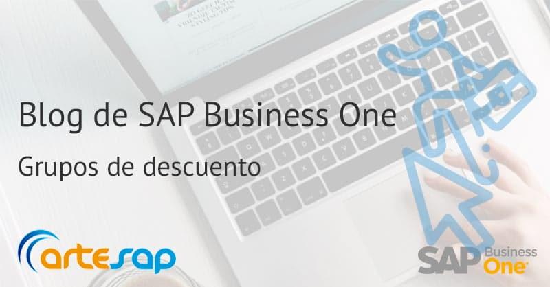 Grupos de descuento en SAP Business One