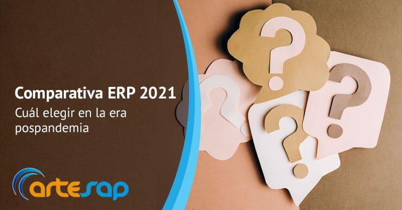 Comparativa ERP 2021, cuál elegir en la era pospandemia