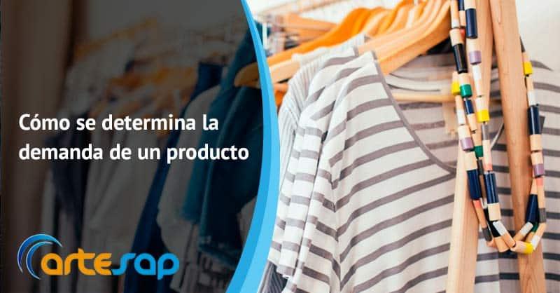 Cómo se determina la demanda de un producto